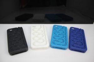 PU rubber Phone cover - Vacuum casting