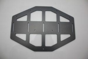 Industrial drone - CNC machined carbon fibre