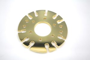 Gold plated - CNC machined