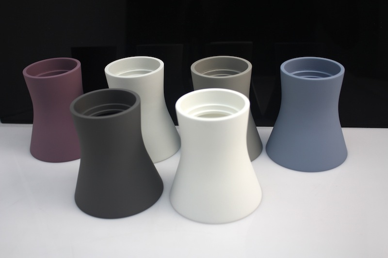 Rubber painted ABS – CNC machined